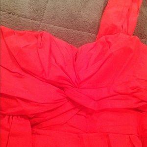 Nanette Lepore Dresses - Nanette Lepore Holiday Red Cocktail Dress 10